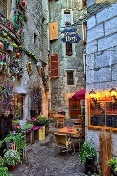 Annecy ~ Haute-Savoie, France I've actually been to this exact place. in and I have nearly this exact picture in my photo album! Places Around The World, The Places Youll Go, Places To See, Wonderful Places, Beautiful Places, Amazing Places, Annecy France, Lyon France, Belle France