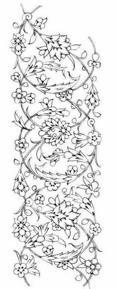 Illumination Source by samyvahidi Islamic Art Pattern, Pattern Art, Spiral Drawing, Boarder Designs, Leather Tooling Patterns, Paisley Art, Arabesque Pattern, Persian Motifs, Pencil Design