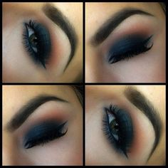 I'm kinda in love with these non-wearable smokey eyes. They're just-aghhhh! I just can't even!