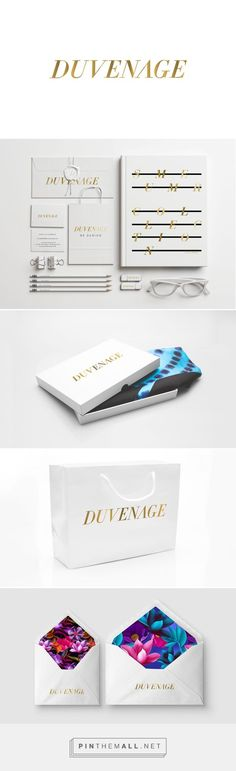 Fashion, graphic design and packaging for Duvenage on Behance by Josip Kelva Melbourne, Australia curated by Packaging Diva PD.