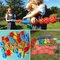 Experience of number through play Playing With Numbers, Early Years Maths, Water Tray, Primary Maths, Corner House, Learning Numbers, Place Values, Eyfs, Enabling