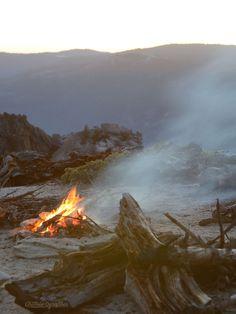 Campsite at Dewey Point, Yosemite National Park