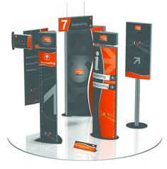 wayfinding signage MCFT N5 Vista System