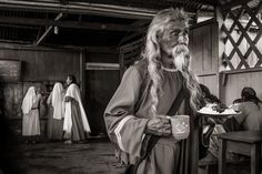 man in a religious community