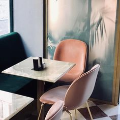 GUBI // Beetle Chair by GamFratesi