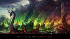 game of thrones The Blackwater Rush artwork | Battle of the Blackwater by haryarti