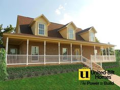 Here's a recent home we've #CustomBuilt! #UBH #UBHFamily