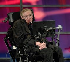 1996 - Stephen Hawking. I was walking down the street in Aspen when I saw a woman trying to get a wheelchair w/occupant up a ramp, but the wheels were stuck in the snow. I rushed over to help, and as I got the chair unstuck I looked down and realized it was Dr Hawking.