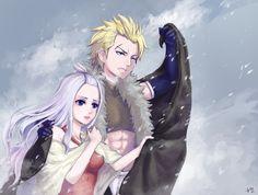 Fairy Tail, Sting et Mirajane *w*