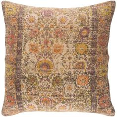 "Rosalind Wheeler Marion Throw Pillow Size: 30"" H x 30"" W x 5"" D, Color: Pink"