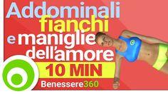 10 Minuti di esercizi per: tonificare gli addominali, snellire i fianchi ed eliminare le fastidiose maniglie dell'amore. Allenamento a corpo libero da fare a...