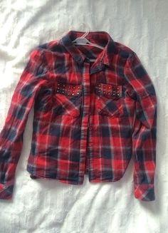Kup mój przedmiot na #vintedpl http://www.vinted.pl/damska-odziez/koszule/14722653-czerwona-koszula-w-krate-rozmiar-s