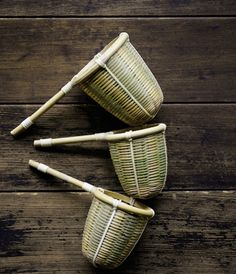 Japanese bamboo tea strainer