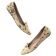 Spotted Calf Hair Flats (Sigerson Morrison)