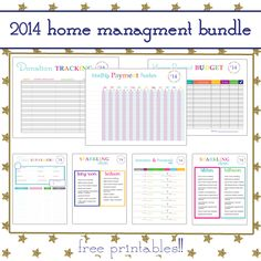 2014 Home Management Bundle