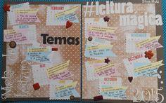 Temas e titulos escolhidos para o projeto Leitura Mágica 2015 Mais informações no blog: http://silviamutz.blogspot.com.br/2014/12/24-temas-24-livros.html
