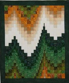 Mist in the Mountains Pattern Download from ConnectingThreads.com Quilting by Grizzly Gulch Gallery