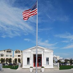 SEASIDE, FL Post Office ~ Scenic Route 30a ~ South Walton Beaches Florida ~ SoWal ~ Family Beach Vacation ~ Seaside Style ~ 30-A
