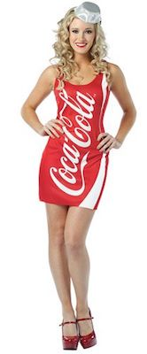 Coca Cola Bottle Dress Costume