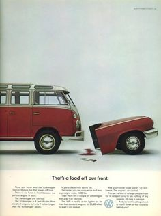 The brilliant Volkswagen advertising from the Mad Men-era