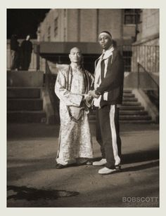 Sifu Shi Yan Ming and RZA from the Wu-Tang Clan, you know you love what you do when you take what you love this far