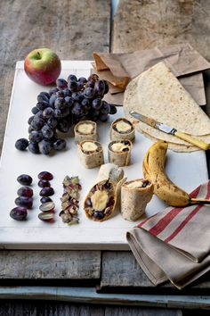 Wraps are the ideal on-the-go meal because you can put practically  anything in them. Wrap them around fruit and peanut butter and they can  be called breakfast ... or roll them for dinner and they