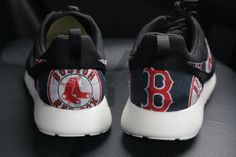 DISCLAIMER: NYcustoms items are not licensed products of Sanrio, DC, Marvel, Lucas film, Disney or any trademark/copyrighted company you may see in the work. This item is however crafted using the licensed fabric or comic. NYCustom is not affiliated with or sponsored by the NFL.  Shoes:  The base shoe used is the Men Nike Rosherun Black / Anthracite / Sail  Women Nike Rosherun Pure Platinum/Black/White The fabric is glued on directly to the shoes.  Turnaround Time:  T...