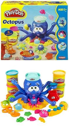 Play-Doh Modeling Clay 11740: Hasbro Play Doh Octopus Brand New In Box Play-Doh 20390 Rare -> BUY IT NOW ONLY: $64.99 on eBay!