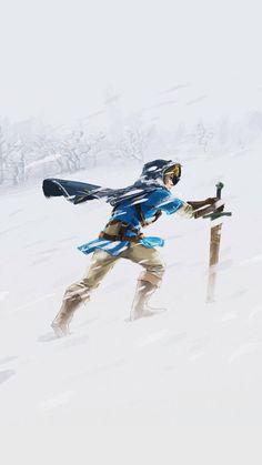 This is how Winter makes me feel.   The Legend of Zelda: Breath of the Wild wallpaper by De-monVarela