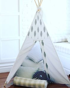 childrens teepee by PtitTipiBoutique on Etsy