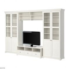 'The Divorcemaker': This Liatorp home entertainment unit requires two people for assembly and involves putting together a large amount of shelving