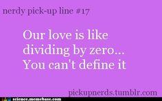 Nerdy Pick Up Line #17
