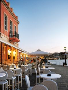Old port, #Chania #Crete #Greece http://www.rooms-2-let.com/hotels.php?id=273