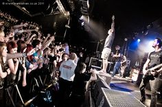 Parkway Drive - Nottingham Rock City  photography by Mark Latham