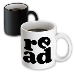 3dRose Read, Magic Transforming Mug, 11oz