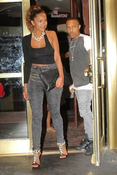 LHH: NY Star Erica Mena And Bow Wow Have A Dinner Date (photo) : Old School Hip Hop Radio Station, Online Radio Station, News And Gossip