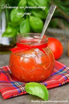 Bernika - mój kulinarny pamiętnik: Passata sos pomidorowy na zime