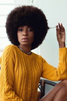 This fro is PERFECT Hair Inspo, Natural Hair Styles, Curly Hair Styles, Natural Hair Care, Black Girls Hairstyles, Afro Hairstyles, Black Power, Natural Hair Journey, Kinky Hair