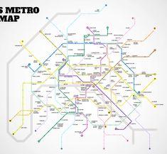 Paris Metro map httpwwwratpfrplaninteractifcarteidfphp