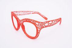 printed eyewear made in Cambridge, UK. Eyewear, 3d Printing, Glasses, Model, Prints, Impression 3d, Eyeglasses, Eyeglasses
