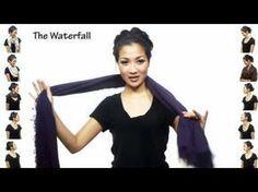 25 formas de usar bufanda o pañuelo ,¡ no te lo puedes perder !   Cuidar de tu belleza es facilisimo.com