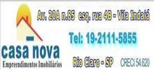 Daniel Ribas Lopes AV. 20-A, N°85 - VILA INDAIÁ F.19-2111-5855 RIO CLARO / SP administrativo@imobiliariacasanova.com.br www.imobiliariacasanova.com.br