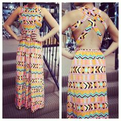Spring outfits arriving daily! Look at this back!