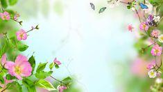 papel de parede flor fundo verde - Pesquisa Google