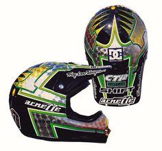 1998 Troy Lee Designs Helmet of Jeff Emig | Flickr - Photo Sharing!