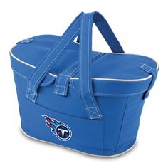Picnic Time: NFL Tennessee Titans Mercado Insulated Basket. Find your team @ ReadyGolf.com