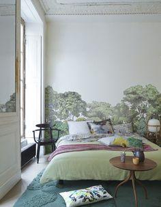 tapis chambre vert