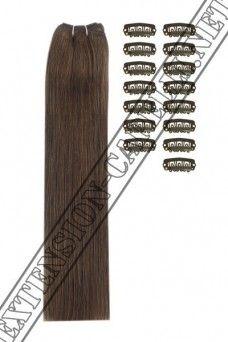 Extension Fai Da te, 120g, 50cm, #4 Bronzo medio