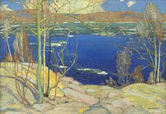 Tom Thomson, Spring Ice, 1916 - National Gallery of Canada | West Wind