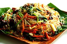 Korean Glass Noodles – Jap Chae / Chap Chae